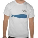 52 Hertz - The Loneliest Whale in the World Tshirts