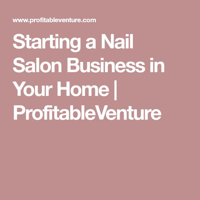 how to open a nail salon business
