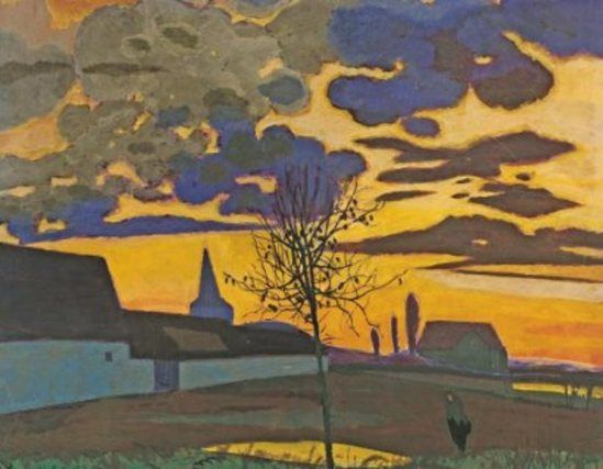 Léon Spilliaert. La ferme blanche 1922