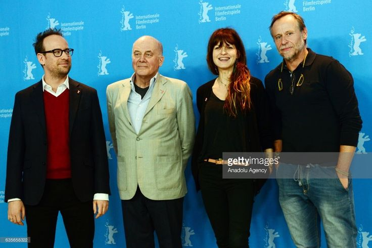 Director Julius Sevcik, actor Hanns Zischler, actress Arly Jover and Karel Roden attend the photocall of 'Masaryk/A Prominent Patient' during the 67th Berlinale International Film Festival at Grand Hyatt Hotel in Berlin, Germany on February 16, 2017.