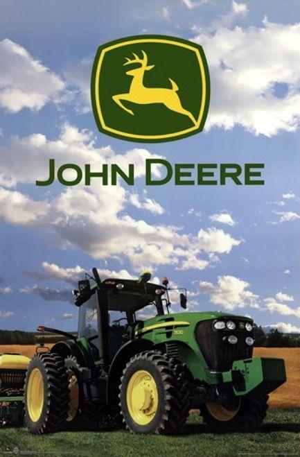 John Deere  Logo 2014 Poster Poster Print  Item