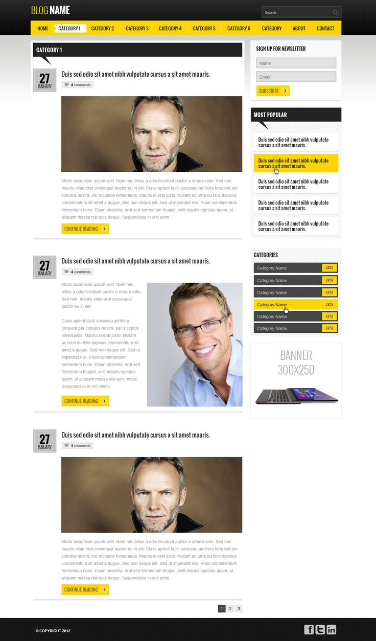 7 best Free Web Template Monster images on Pinterest | Free ...