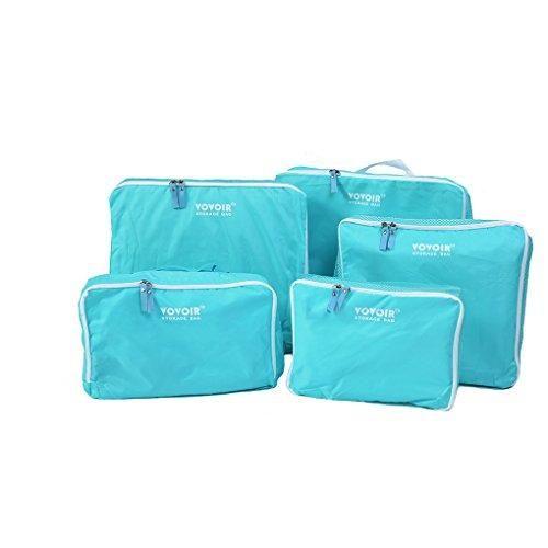 Oferta: 19.72€ Dto: -50%. Comprar Ofertas de HJL 5 pcs portátiles de los organizadores de viajes de ropa Embalaje Cubos de equipaje Limpieza Accesorios Viaje Bolsa Almace barato. ¡Mira las ofertas!