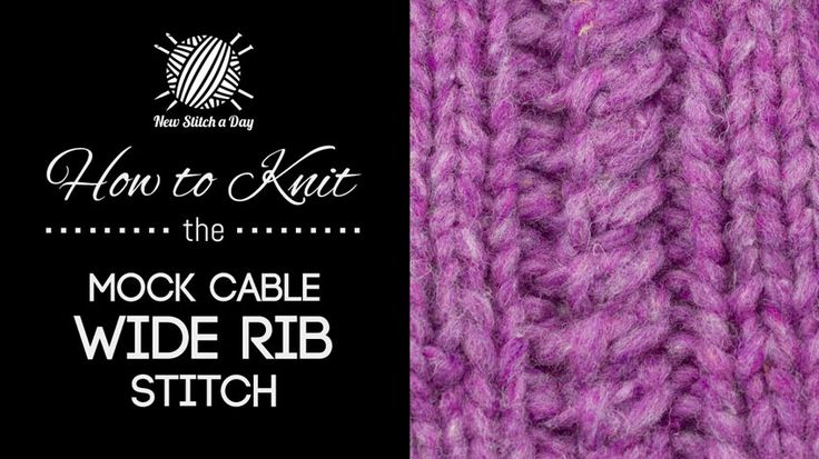 306 best images about KNITTING STITCH on Pinterest Ribs, Lace and Lace knit...
