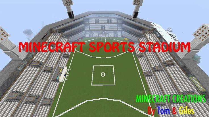 Minecraft Sports Stadium