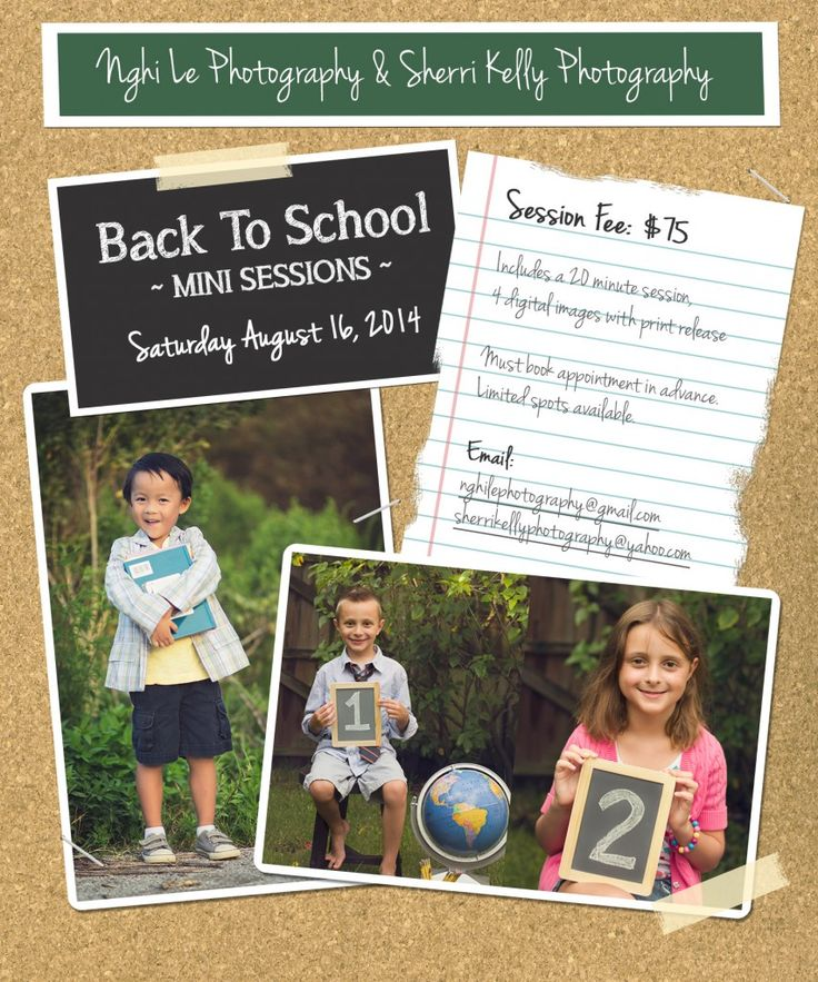 40 Best Images About Back To School Photo Shoot On