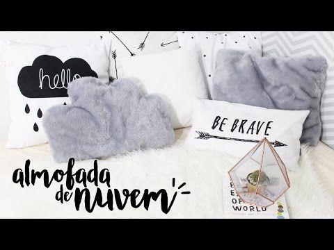DIY Almofada de Nuvem para Decor | Compra-se Um Fusca | Moda, decoração e lifestyle.