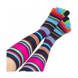 Funky Crazy Toe Socks For Women Socks With Toes - Polyvore