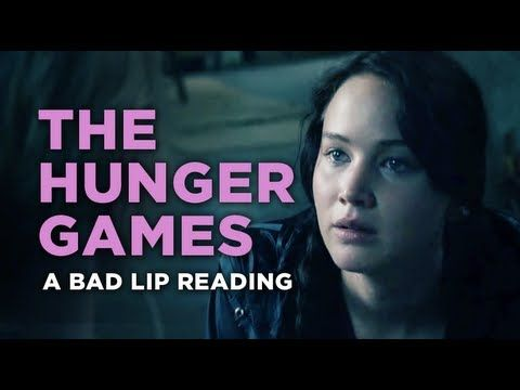 """""""The Hunger Games"""" — A Bad Lip Reading  HOLY MOTHER THIS IS SO FUNNY."""