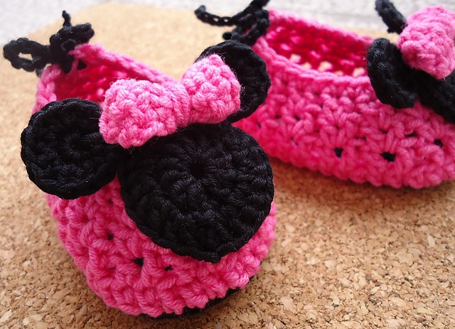 Tutorial Amigurumi Mickey Mouse : Best mickey minnie mouse images crochet baby