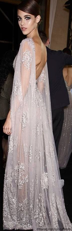 Wedding Gown Inspiration / Elie Saab Haute Couture | F/W 2013 (instagram: the_lane)