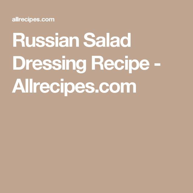 Russian Salad Dressing Recipe - Allrecipes.com