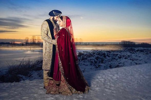 An absolutely breathtaking image captured by our friends @amritphotography of our beautiful bride Pinder in her stunning bridal lehenga designed by #Wellgroomedinc! ✨ Are you looking to start the design process of the bridal outfit of your dreams? Or that showstopping party wear piece? Email us at sales@wellgroomed.ca to set up a free consultation.