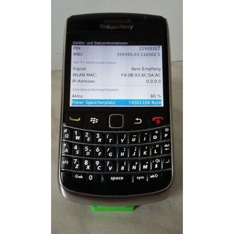 BlackBerry Bold 9700 - schwarz, Vodafone-Branding, ohne SIM-Lock, QWERTY-Tasten