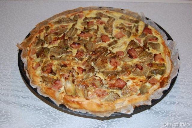 Torta salata ai carciofi, scopri la ricetta: http://www.misya.info/2011/04/20/torta-salata-ai-carciofi.htm