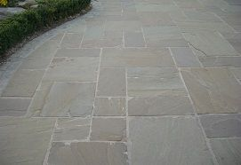 Buy Lalitpur grey sandstone paving from Stonemart for interior and exterior home decor.