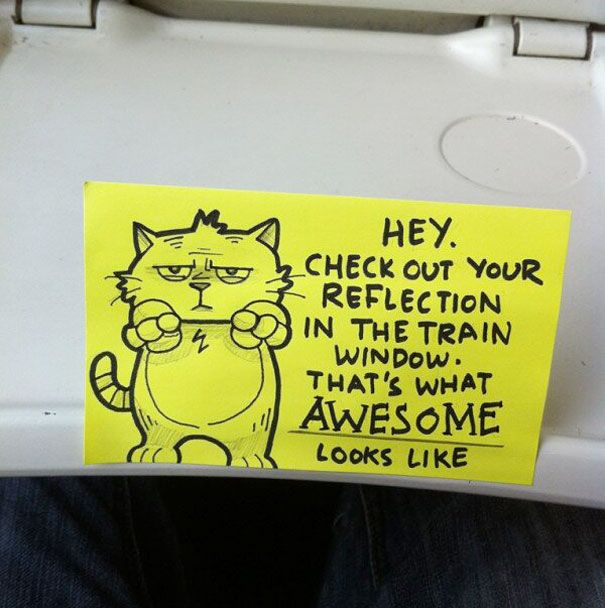 Quotes On Sticky Notes: 17 Best Post-It Fun Images On Pinterest