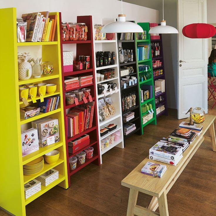 Étagère 5 tablettes (plusieurs coloris disponibles) - Swag - Les étagères - Bibliothèques, étagères et living - Tous les meubles - Décoration d'intérieur - Alinéa