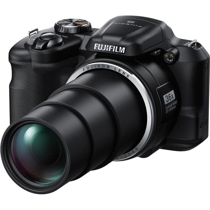 Aparat cyfrowy Fuji FinePix S8600 czarny