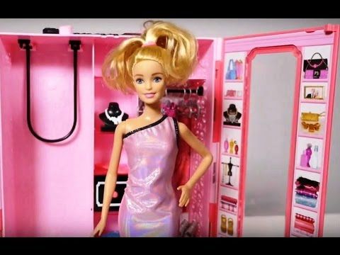 Party Barbie. Toys for Girls and Girls Games. Dressing Games. Barbie get...