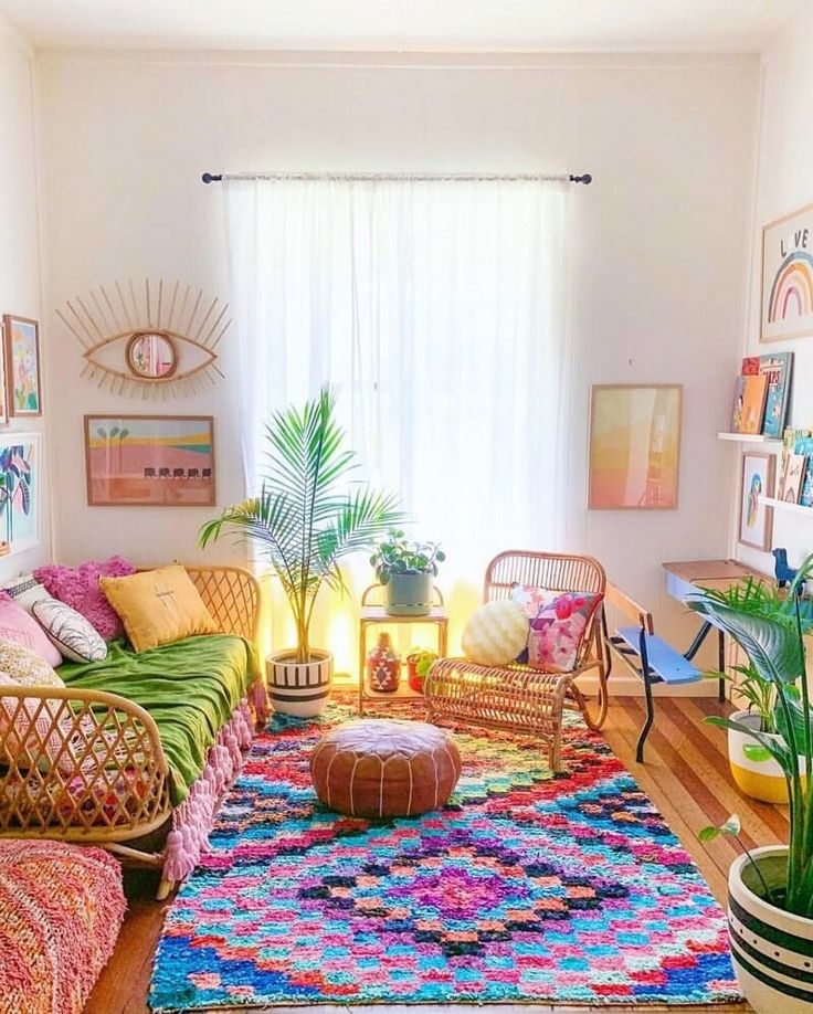 Boho Style Ideas for Interior Designs and Decor Bohemian