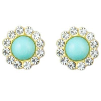 Swell Stud Earrings by Loren Hope