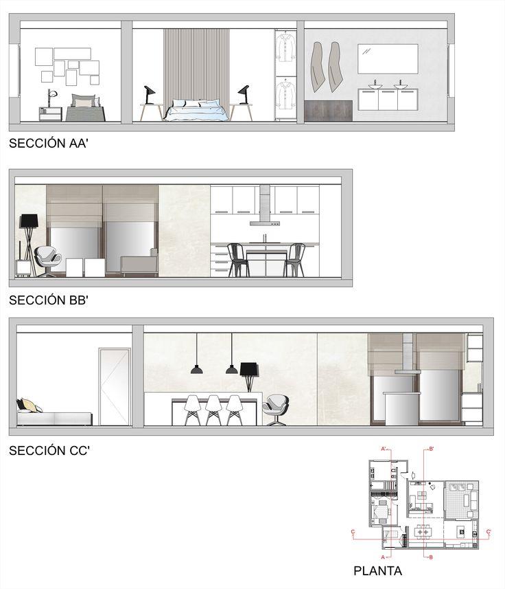 Planos de secciones de una vivienda planos homebox - Planos de una vivienda ...