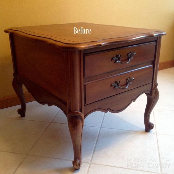 painted night stand, chalk paint, painted furniture