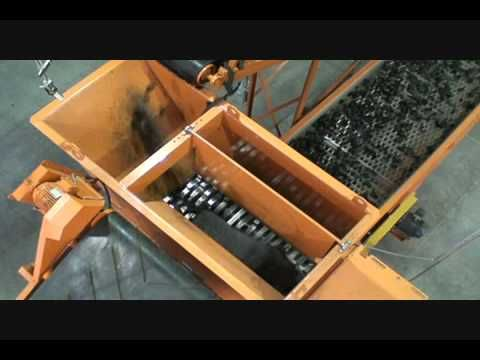 PI 3000 Waste Tire Recycling Plant - YouTube