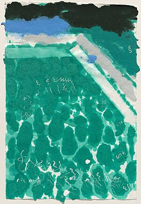 david hockney pool - Google Search