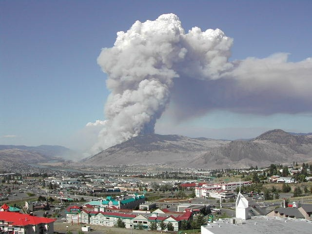 Strawberry Hill wildfire 2003