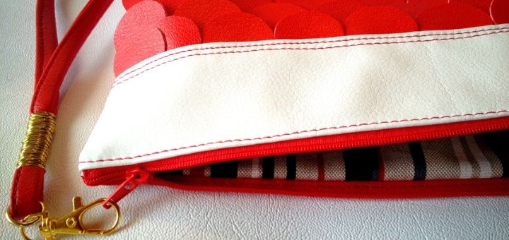 Competition: Win this vibrant handmade clutch bag from Etsy shop Qmuro