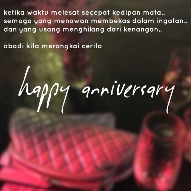 puisi Happy Anniversary