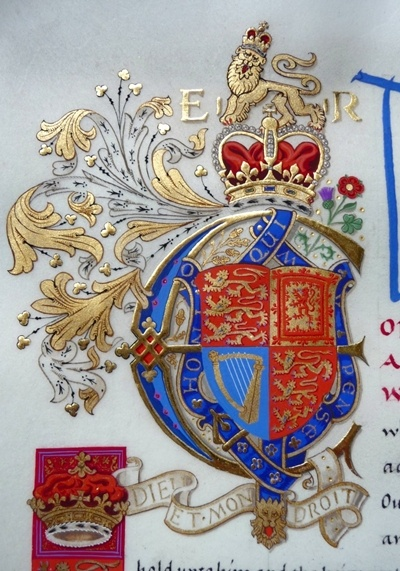 Royal Initial of Queen Elizabeth II  (by Andrew Stewart Jamieson)