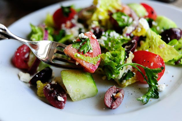 ... salad ever created..or at least the best Greek Salad recipe @Rachel