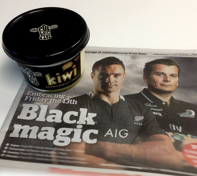 you can never have too much black *proud grin* #NZ #KiwiAs