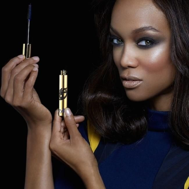 Tyra Banks y su nueva línea de maquillaje, ¿cómo te quedas?