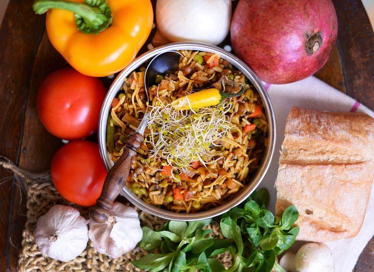 Vegetanie - wegetariańskie przepisy, tanie i szybkie dania domowe, warzywa w kuchni: Szybkie danie dla studenta za 2,50 zł/os.