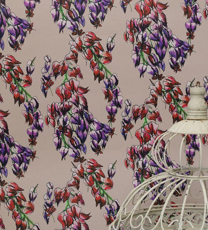 Trailing Flowers Wallpaper Occipinti