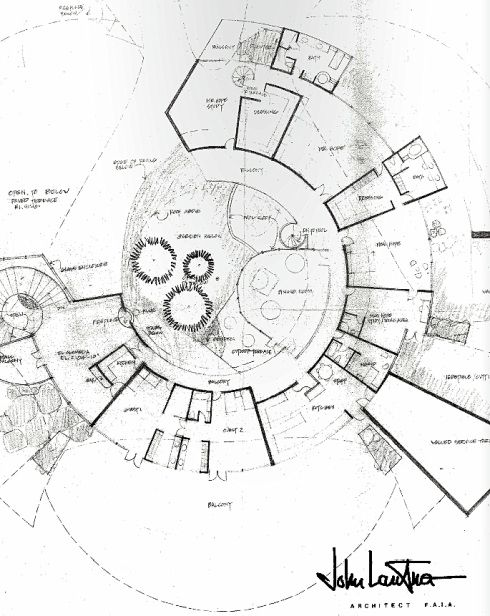 21 best circular images on pinterest architectural for Bob house plans
