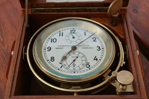 Wempe Chronometerwerke Marine Chronometer N°5568