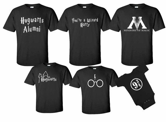 Harry Potter Wizarding World 9 3 4 Shirts In 2019