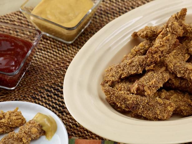 """Rachael cuts chicken tenders into bite-sized """"toes"""" that are perfect for little eaters."""