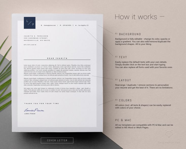 Mer enn 10 bra ideer om Cover letter template word på Pinterest - one page resume template word
