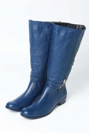 Blue boots  www.happysizes.gr