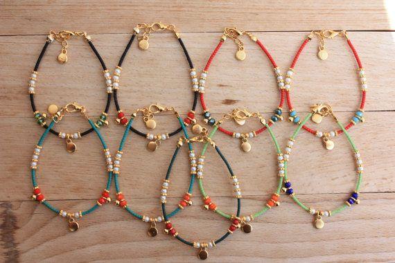 Pulsera étnica grano afgano por mayor por monroejewelry en Etsy