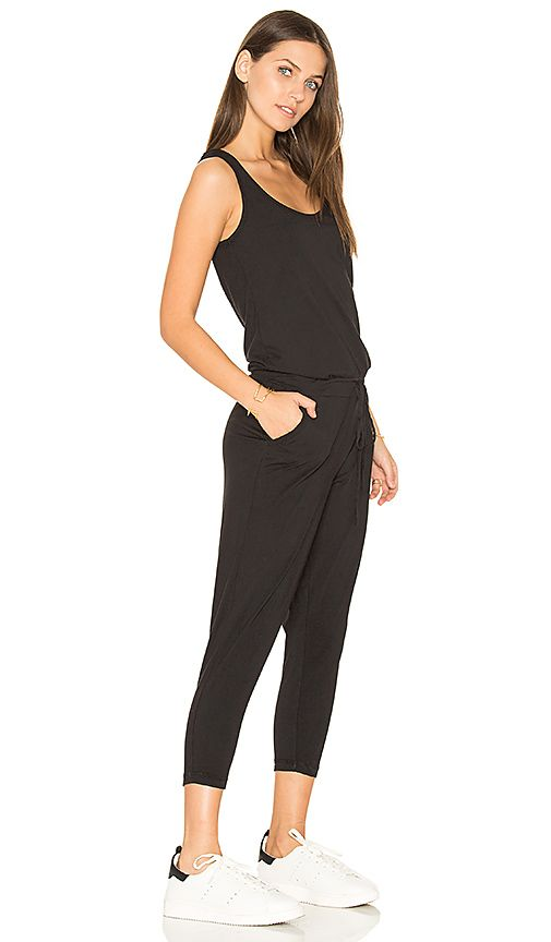 fbbd838c188 Bobi Supreme Jersey Sleeveless Jumpsuit in Black