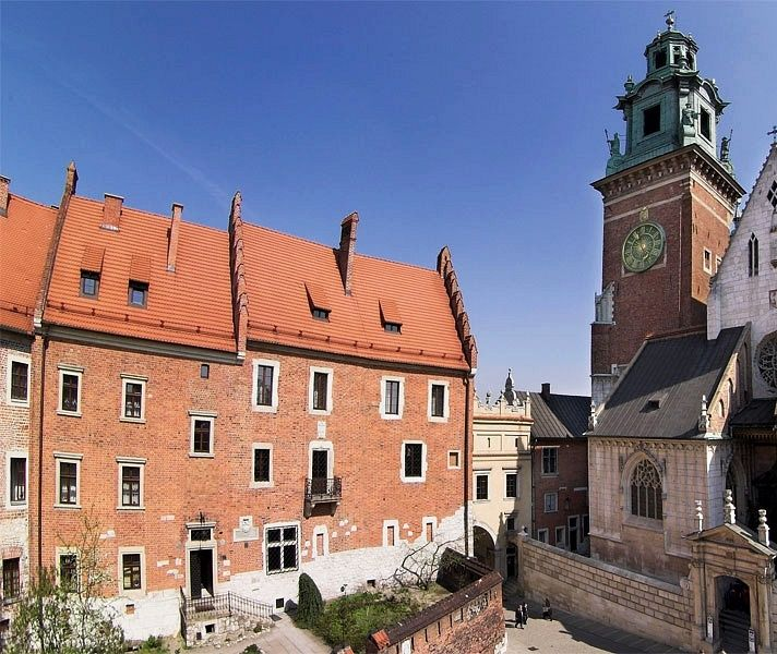 The so-called Cathedral House at the Wawel Hill was made up from two 14th century buildings built in the time of Casimir the Great