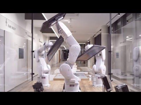 We proudly present: Mitsubishi Electric´s interactive robot application! - YouTube