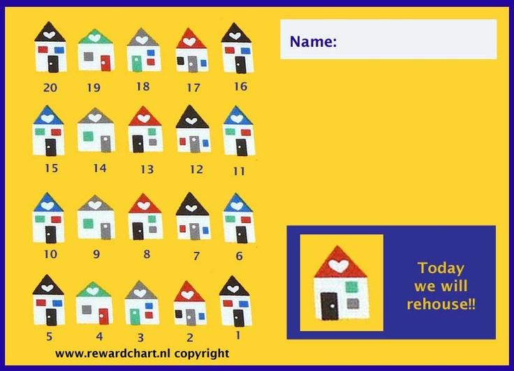 Countdown calendar rehousing